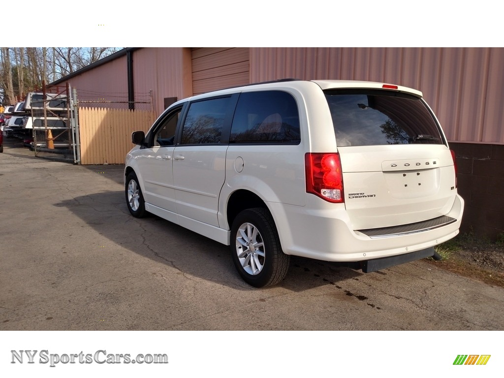 2013 Grand Caravan SXT - Stone White / Black/Light Graystone photo #11