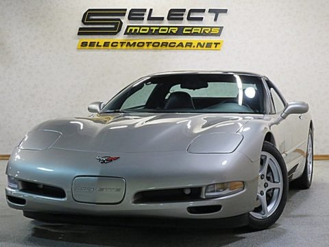 Light Pewter Metallic 2000 Chevrolet Corvette Coupe