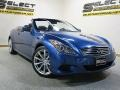 Infiniti G 37 S Sport Convertible Athens Blue photo #6