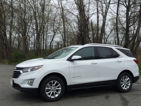 Summit White 2018 Chevrolet Equinox LT AWD
