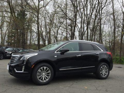 Stellar Black Metallic 2017 Cadillac XT5 Luxury AWD