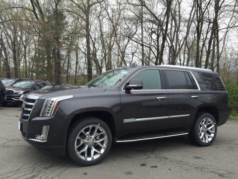 Dark Granite Metallic 2017 Cadillac Escalade Luxury 4WD