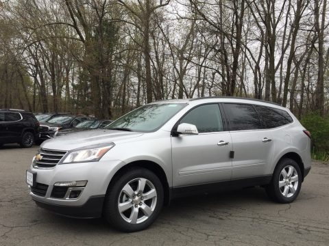 Silver Ice Metallic 2017 Chevrolet Traverse LT AWD