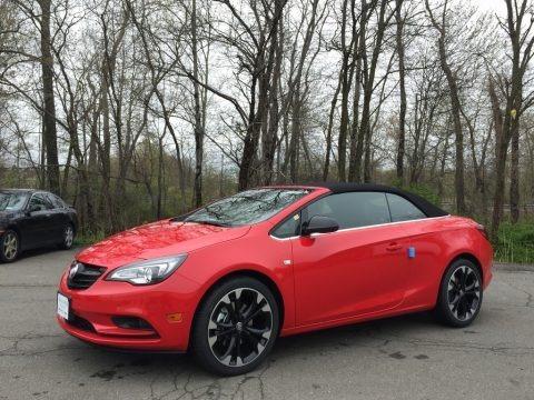 Sport Red 2017 Buick Cascada Sport Touring