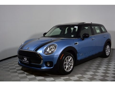 Digital Blue Metallic 2017 Mini Clubman Cooper ALL4