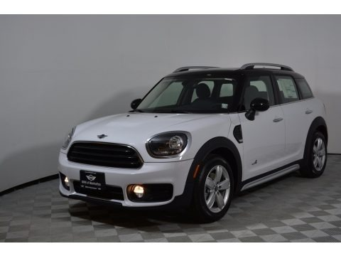 Light White 2017 Mini Countryman Cooper