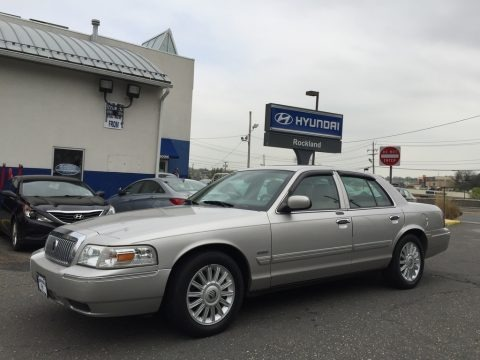 Smokestone Metallic 2010 Mercury Grand Marquis LS Ultimate Edition