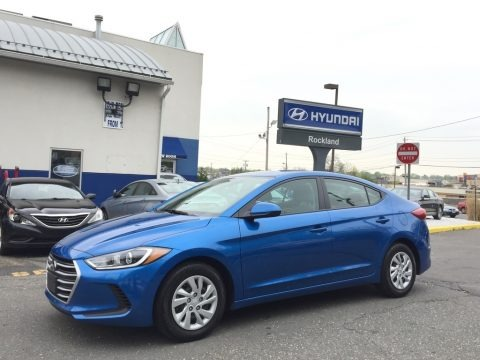 Electric Blue 2017 Hyundai Elantra SE