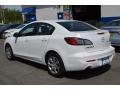Mazda MAZDA3 i Sport 4 Door Crystal White Pearl Mica photo #3