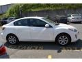 Mazda MAZDA3 i Sport 4 Door Crystal White Pearl Mica photo #6