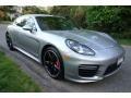 Porsche Panamera GTS GT Silver Metallic photo #8