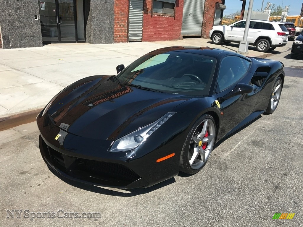 2016 488 GTB  - Nero DS 1250 / Charcoal photo #1