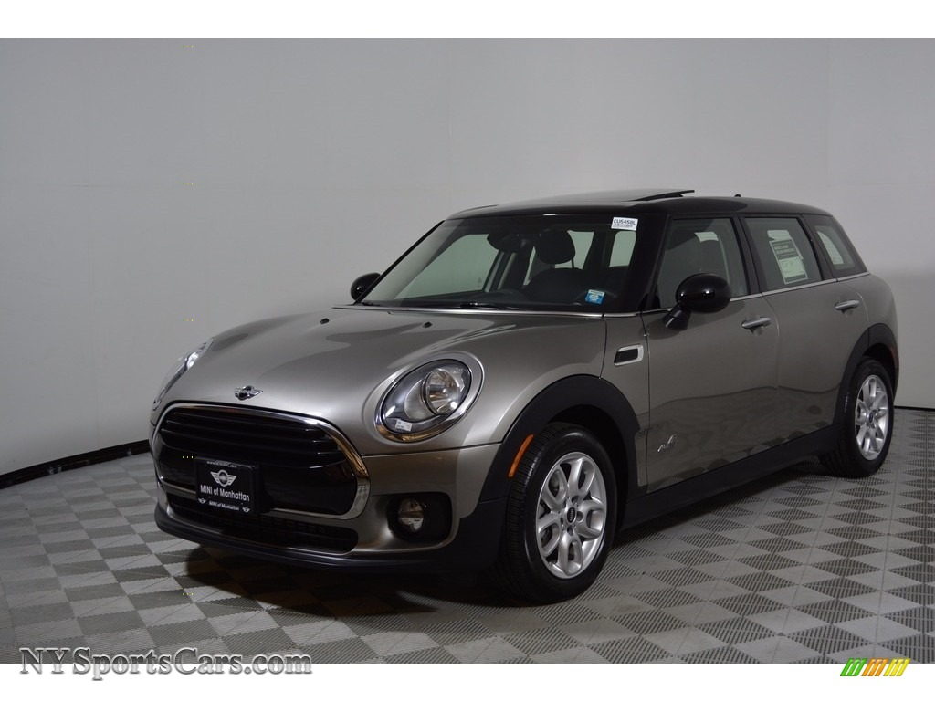 Melting Silver Metallic / Carbon Black Mini Clubman Cooper ALL4