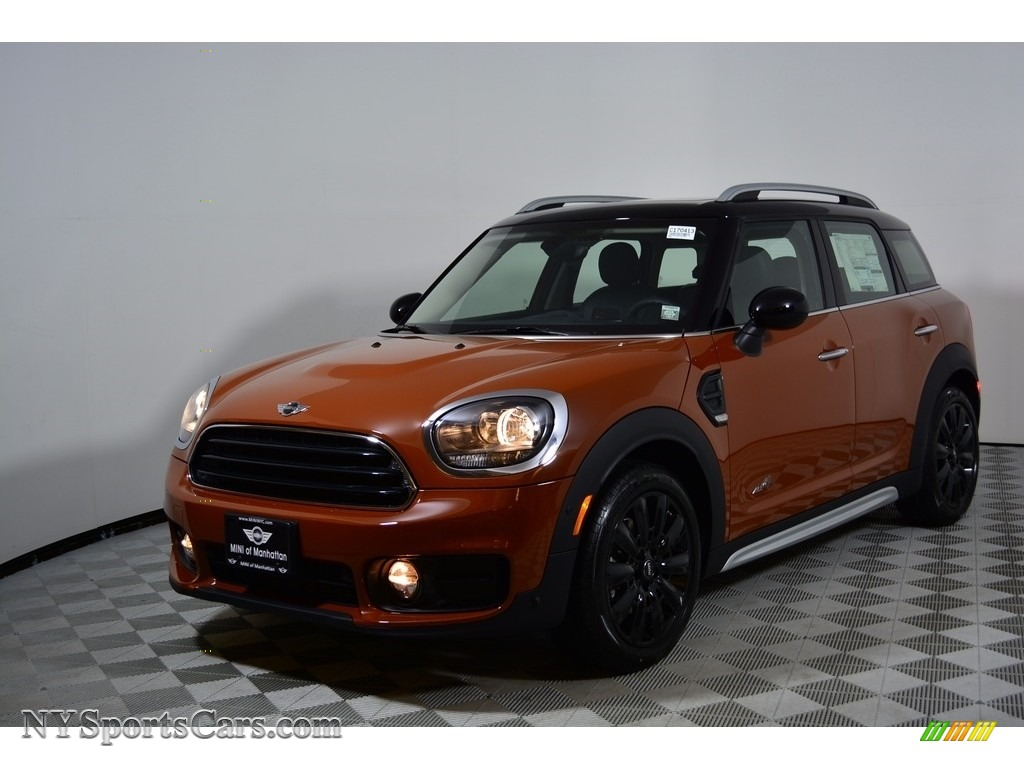 2017 Countryman Cooper - Chestnut / Lounge Leather/Carbon Black photo #1