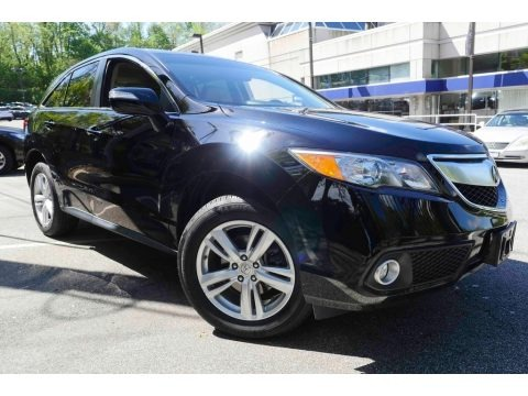 Crystal Black Pearl 2014 Acura RDX Technology AWD