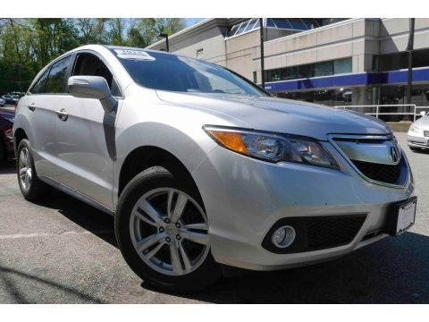 Forged Silver Metallic 2014 Acura RDX Technology AWD