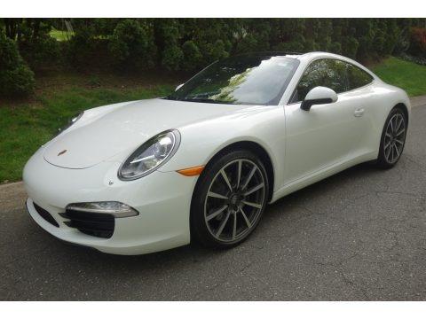 White 2014 Porsche 911 Carrera Coupe