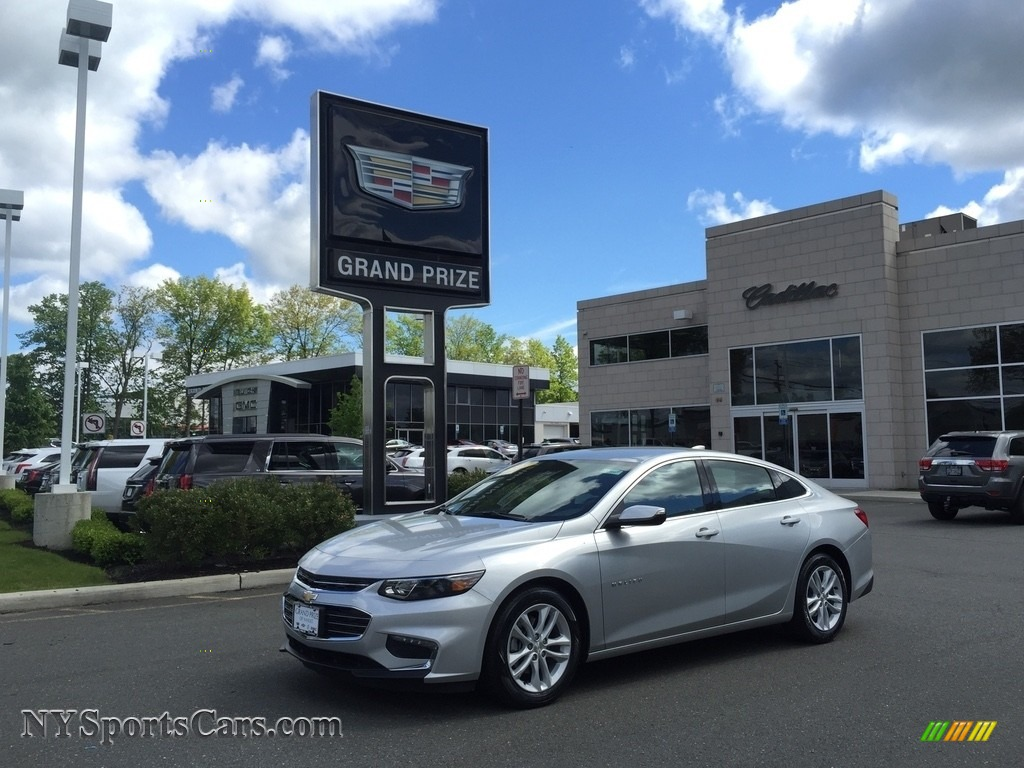 Silver Ice Metallic / Jet Black Chevrolet Malibu LT