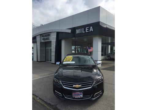 Black 2017 Chevrolet Impala Premier