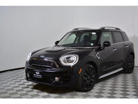 Midnight Black Metallic 2017 Mini Countryman Cooper S ALL4