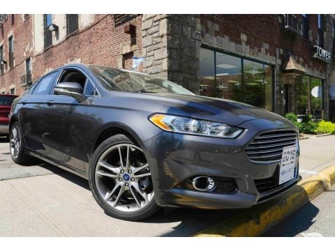 Magnetic Metallic 2016 Ford Fusion Titanium AWD