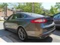 Ford Fusion Titanium AWD Magnetic Metallic photo #4