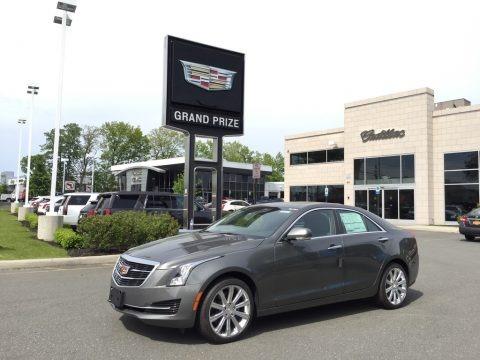 Phantom Gray Metallic 2017 Cadillac ATS Luxury AWD