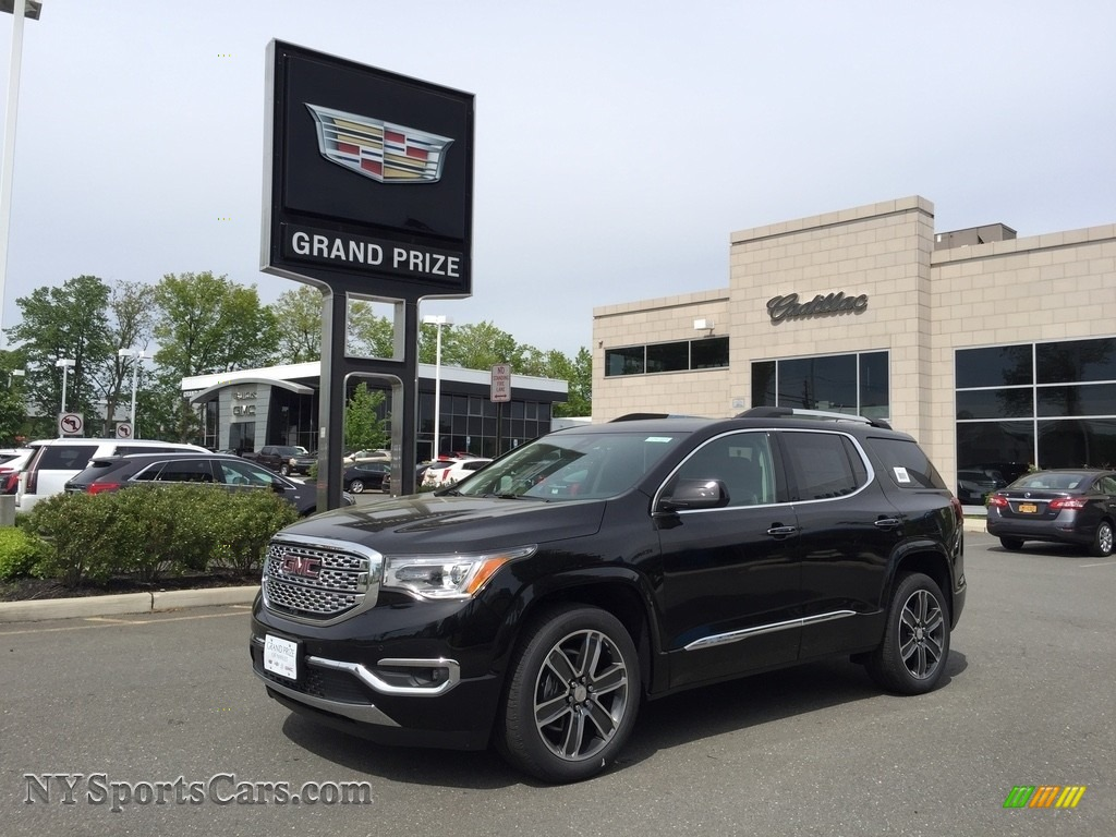 Ebony Twilight Metallic / Jet Black GMC Acadia Denali AWD