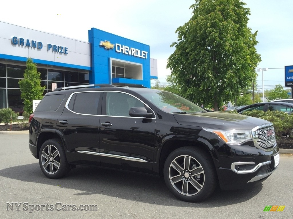 2017 Acadia Denali AWD - Ebony Twilight Metallic / Jet Black photo #3