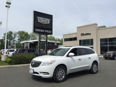 Summit White 2017 Buick Enclave Premium AWD