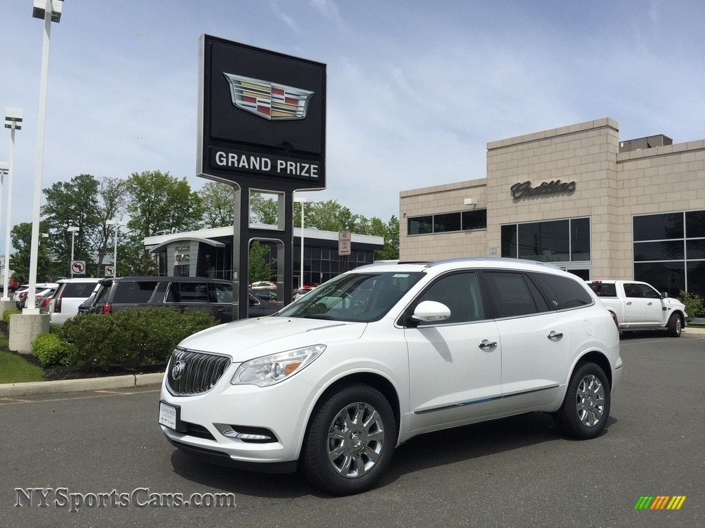 2017 Enclave Premium AWD - Summit White / Ebony/Ebony photo #1