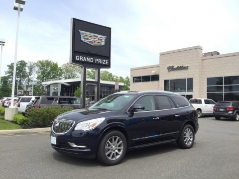 Dark Sapphire Blue Metallic 2017 Buick Enclave Leather AWD