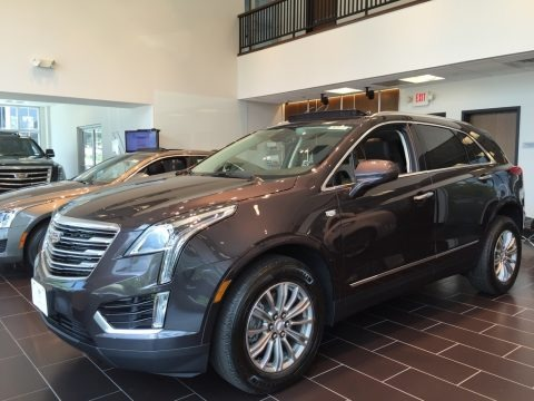 Dark Granite Metallic 2017 Cadillac XT5 Luxury AWD