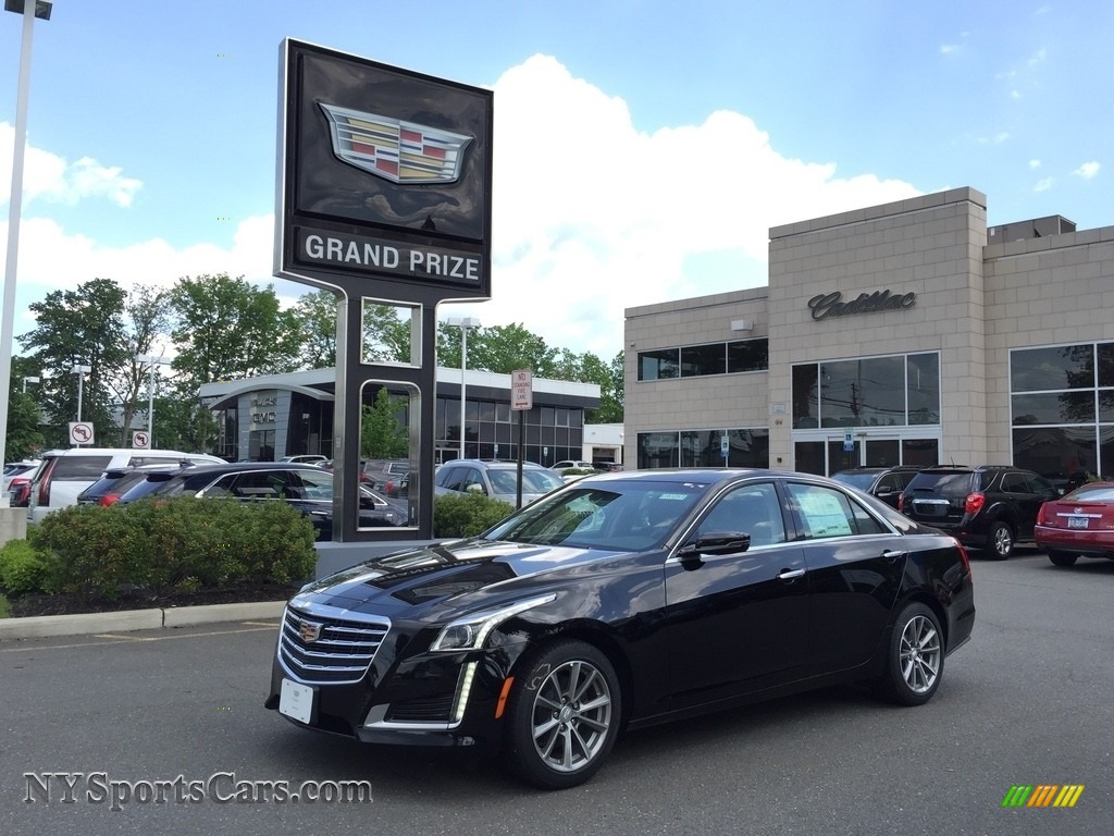 2017 CTS Luxury AWD - Black Raven / Light Platinum w/Jet Black Accents photo #1