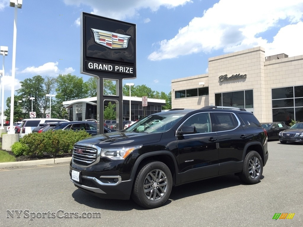 Ebony Twilight Metallic / Jet Black GMC Acadia SLT AWD
