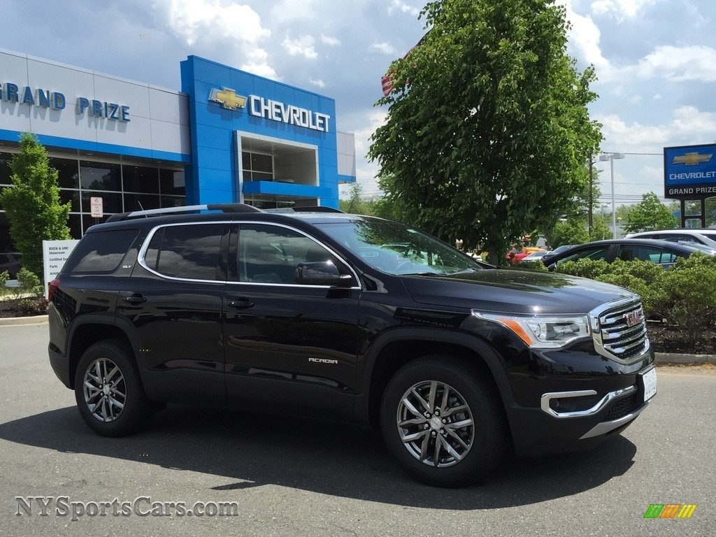 2017 Acadia SLT AWD - Ebony Twilight Metallic / Jet Black photo #3