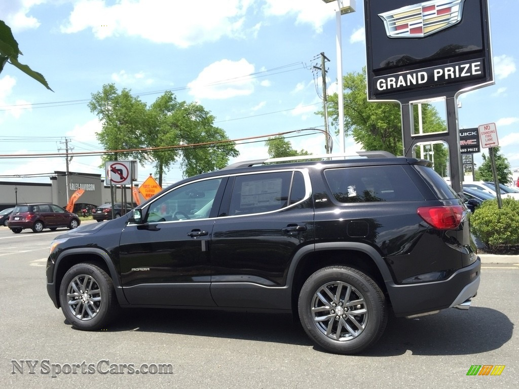 2017 Acadia SLT AWD - Ebony Twilight Metallic / Jet Black photo #6