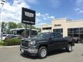 GMC Sierra 1500 SLE Double Cab 4WD Dark Slate Metallic photo #1