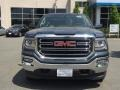 GMC Sierra 1500 SLE Double Cab 4WD Dark Slate Metallic photo #2