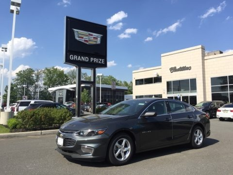 Nightfall Gray Metallic 2017 Chevrolet Malibu LS