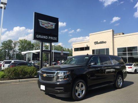 Black 2017 Chevrolet Suburban LS 4WD