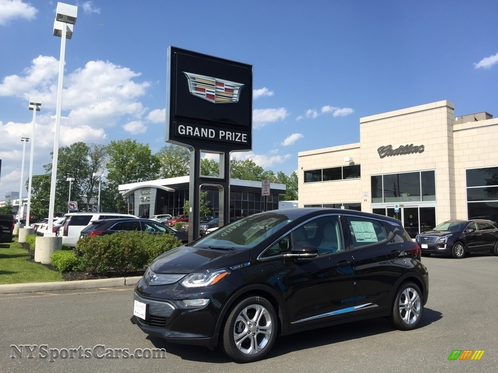 Mosaic Black Metallic / Dark Galvanized/­Sky Cool Gray Chevrolet Bolt EV LT