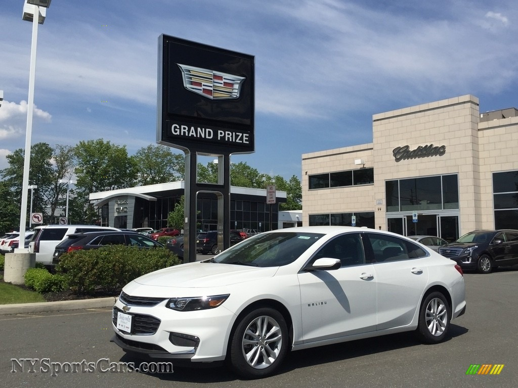 2017 Malibu LT - Summit White / Jet Black photo #1