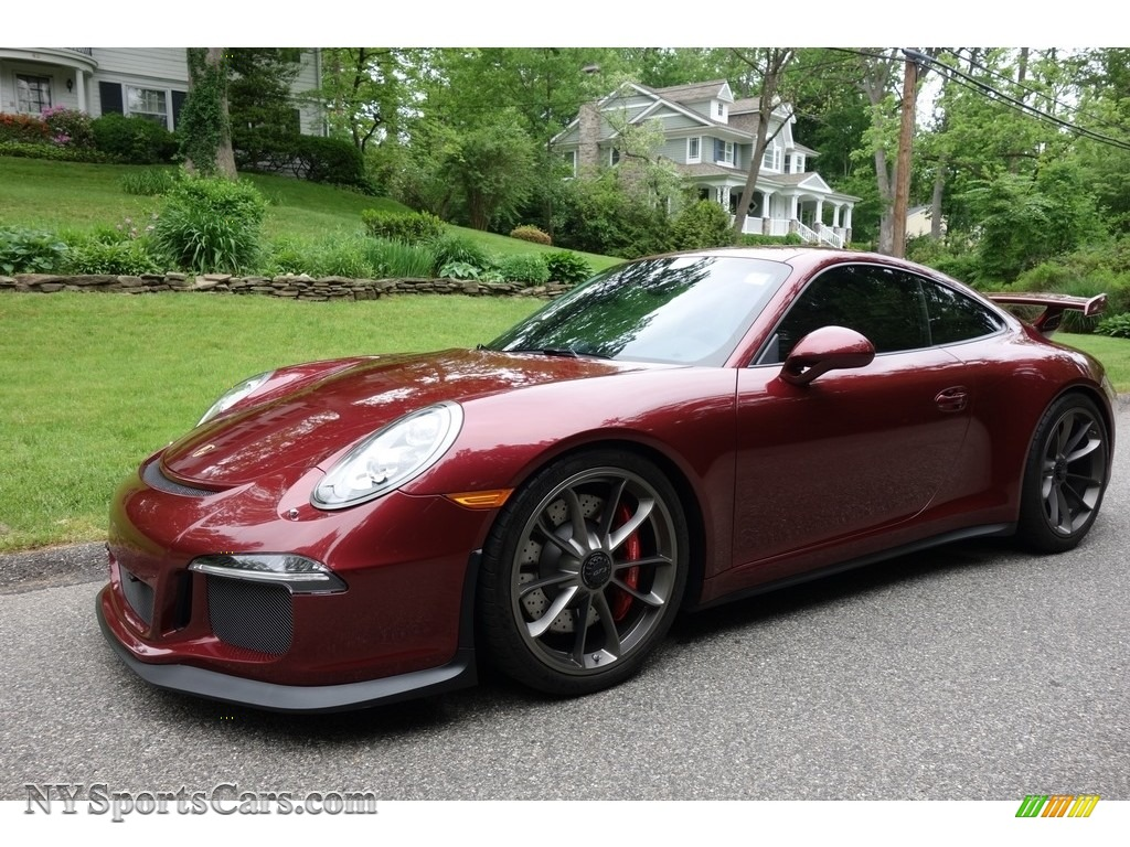 2015 911 GT3 - Arena Red / Black w/Alcantara photo #1