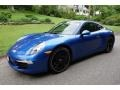 Porsche 911 Carrera 4 Coupe Sapphire Blue Metallic photo #1