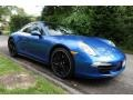 Porsche 911 Carrera 4 Coupe Sapphire Blue Metallic photo #8