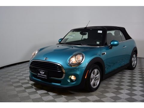 Caribbean Aqua Metallic 2017 Mini Convertible Cooper
