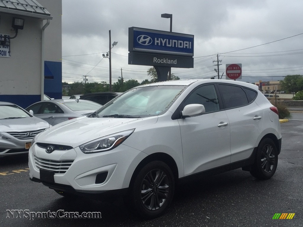 2015 Tucson GLS AWD - Winter White / Beige photo #1