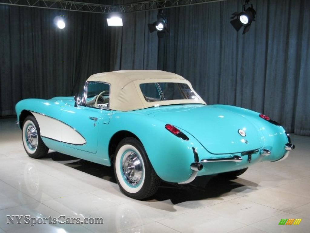 1957 Chevrolet Corvette in Cascade Green photo #2 - 101617 ...