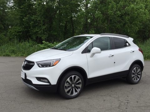 Summit White 2017 Buick Encore Essence AWD